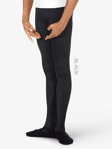 Mens Footed Microfiber Tights - Style No 34943