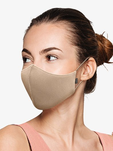 Adult Soft Stretch Face Mask 3 Pack - Style No A001AP