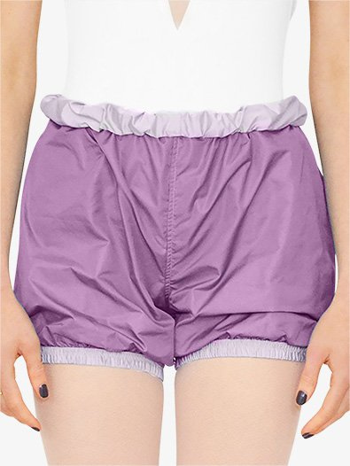 Womens Reversible Warm Up Shorts - Style No BP13501