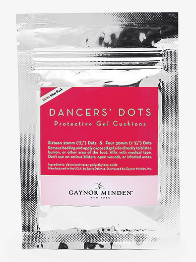 Dancers' Dots Protective Gel Cushions Mini Pack - Style No SAT134